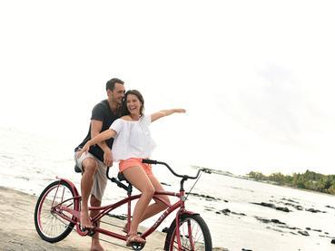Découvrez l'île à vélo durant votre séjour au Veranda