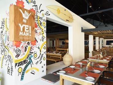 Le restaurant YE! Man de l'hôtel Veranda Tamarin