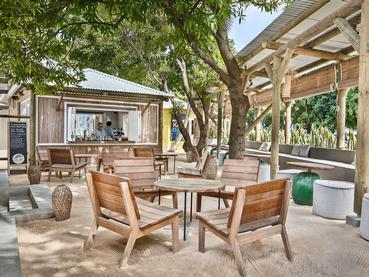 Le Crazy Fish Bar de l'hôtel Veranda Tamarin