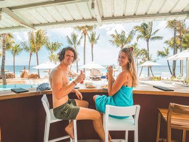 Le Nautil Café de l'hôtel Victoria Beachcomber - For 2
