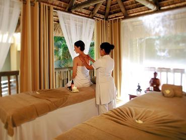 Le spa de l'hôtel 4 étoiles Victoria à l'Ile Maurice