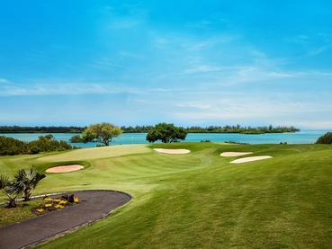Parcours de golf d'exception de l'Anahita, conçu par Ernie Els