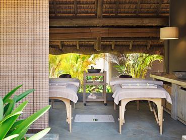 Le spa de l'hôtel 4 étoiles Zilwa Attitude à Calodyne