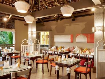 Spécialités indiennes au restaurant Tadka du Zilwa Attitude