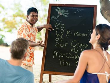 Apprenez le créole au Zilwa Attitude à Calodyne