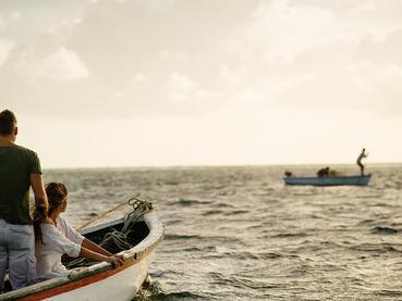 Balade en mer à l'hôtel Zilwa Attitude à l'île Maurice