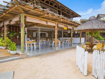 Le restaurant Kot Nou du Zilwa Attitude à Calodyne